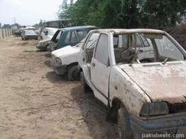 Rajuu/ scrap / dismantl / scrap accidentally/ car buy