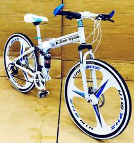 folding cycle with 21  shimano   gears make will model