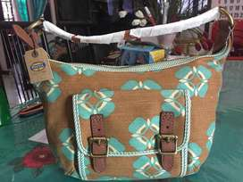 Fossil Tate Hobo Small Floral Original