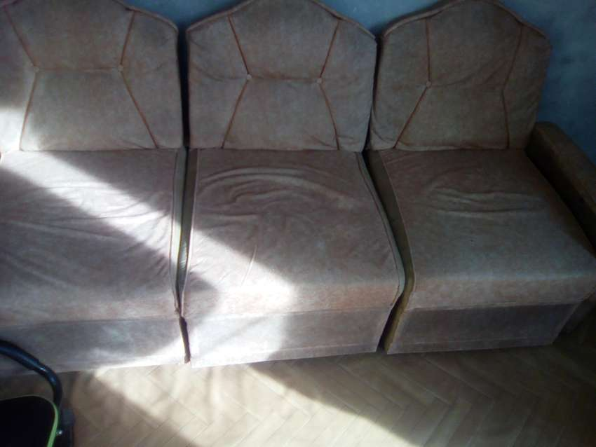 5 single sofa with center and side tables only 5000 0