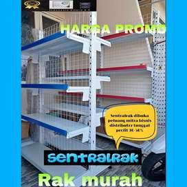 Jual Rak supermarket gondola sentralrak