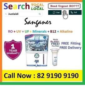 Sanganer18.3 AquaGrand RO Water Purifier Filter AC dth bed car TV