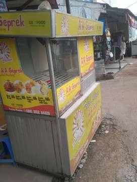 Dijual gerobak chicken kumpit