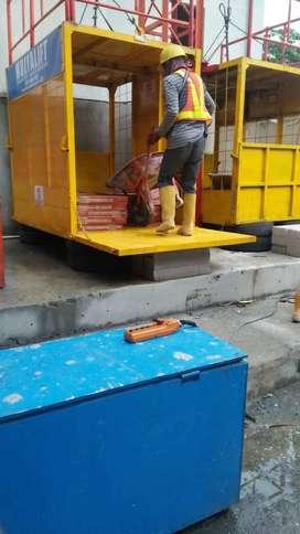 Lift Proyek//Angkut Beban//Material proyek