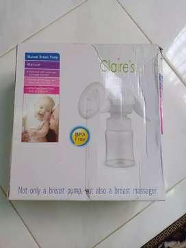 Breastpump manual claires Pompa Asi manual Claire's Putih