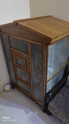 Birds Cage Large Wooden (Teak/Saag Wood)