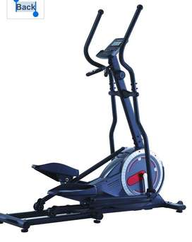 Eliptical cross trainer