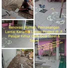 Jasa Tukang Bangunan Borongan (Dedy Steel) Amanah.