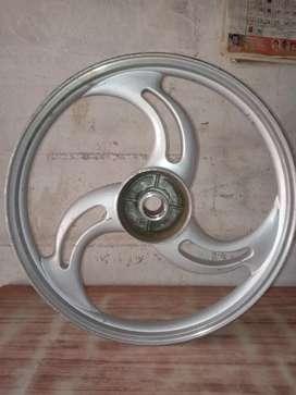 Splender   S wheel only rear piece