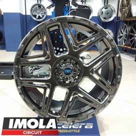 velg mobil expander ring 18 HSR KONGA R18 hole 5x100 dan 5x114,3 ready