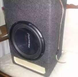Pioneer D4 woofer with box