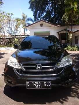 Honda CRV 2011 pajak baru 2.4 kondisi siap pakai