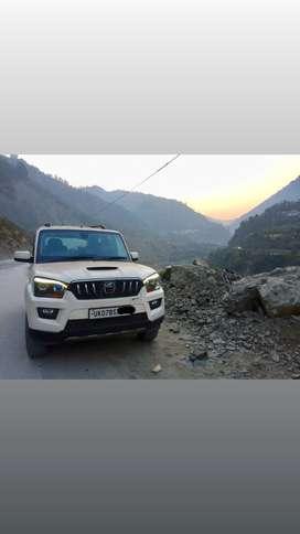 Mahindra Scorpio 2016 Diesel Well Maintained 7 seater