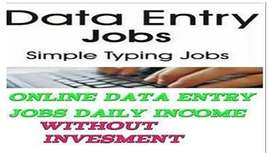 Earn daily Rs 1000/ - Data Entry/ Simple Typing / Form Filling jobs Ea