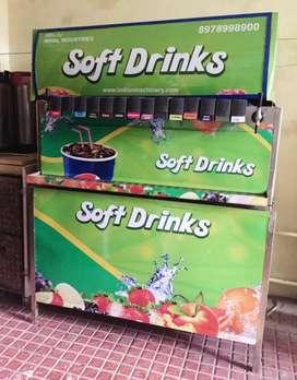 Beverage soda fountain machine all in one model