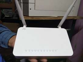 ZTE Airtel 5G GPON ONT fiber with wifi and voice