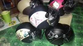 helm bogo polos motif