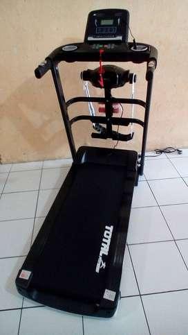 Treadmill Elektrik 1.5 hp TL 607 Total Fitness