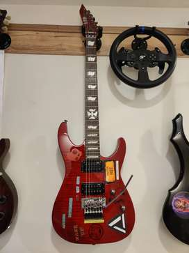 ESP LTD M-100FM with Floyd Rose Electric Guitar
