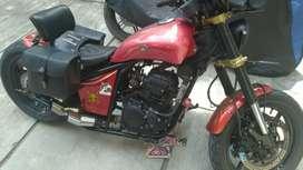 Dijual Yamaha Scorpio 5BP-Z, 223CC, sdh modif.