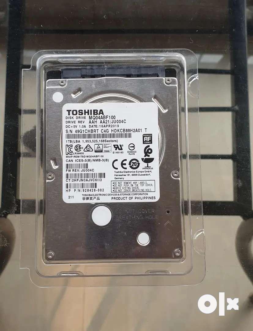 Toshiba 1 TB 2.5 inch HDD