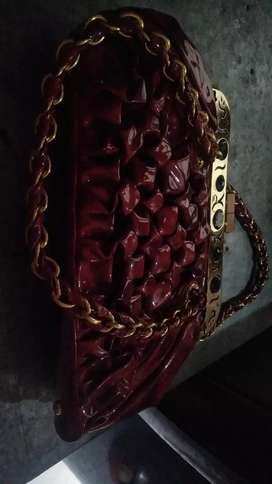 Purse in red color
