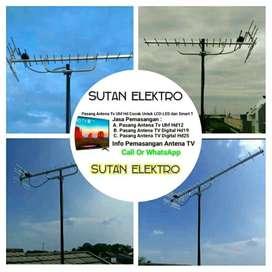 pasang baru antena tv digital bisa pararel - lengkap dan murah