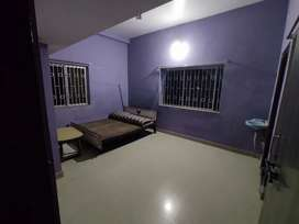 1 bedroom with attached kitchen and bathroom