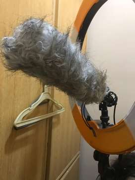 Condenser Mic for youtube videos with dead cat