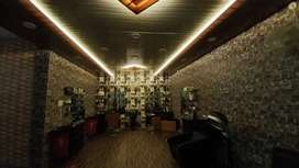 Fully furnished Interior especially for unisex salon