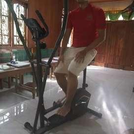 Best Sepeda jogging magnetik New Eliptical bike dua fungsi