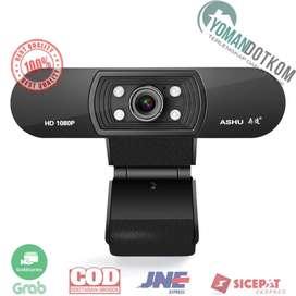 H800 ASHU HD Webcam Desktop PC Laptop Video Conference 1080P