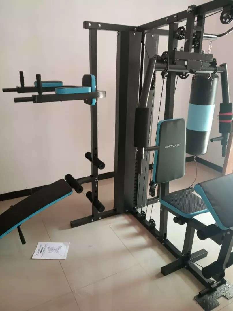 Home gym 3 sisi dengan samsak beban s/d 75kg 0