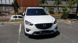 Mazda CX-5 touring putih tahun 2013