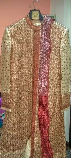 manyawar brand medium size sherwani
