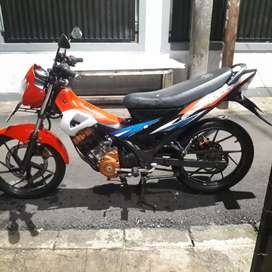 Suzuki Satria FU150 Build Up Thailand Barang Bagus !!