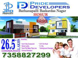 Simplex Villa For sale in Hosur near bus stand just 3km
