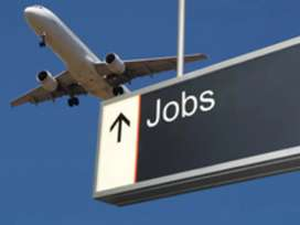 Ground staff and driver jobs available for Domestic airport