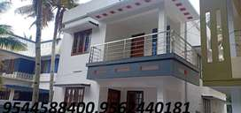 4 cent plot with 1650 sq.ft 3BHK house vallikeezh