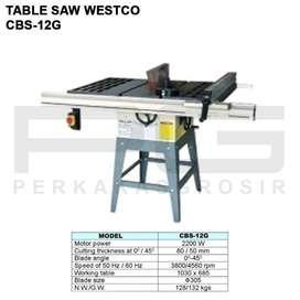 Table Saw WESTCO CBS-12G Mesin Potong Kayu Meja 12 Inch CBS 12G