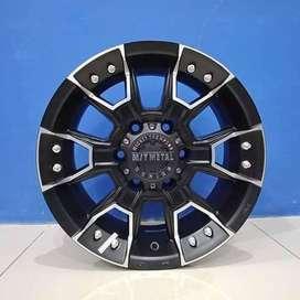 VELG-RING-16-HSR-EMR-904-16X8-PCD-6X1397-ET-6 Black Machine Face