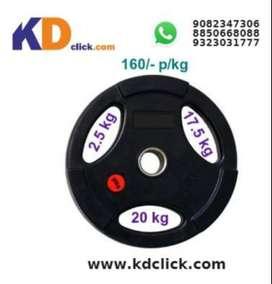 KD Plate Dumbbell (2.5 , 17.5 & 20 kg)