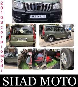 Mahindra Scorpio 2009-2014 M2DI, 2010, Diesel