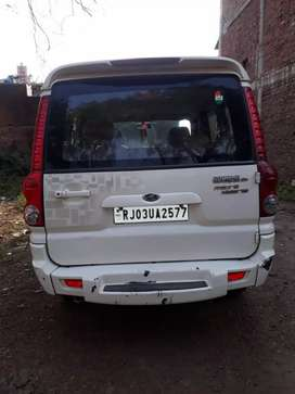 स्कोर्पियो गाड़ी 2013 मोडल कुशलगढ़ जिला बांसवाड़ा