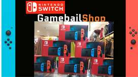 Nintendo Switch 2 New Model - Neon Blue / Neon Red Long Life Battery