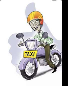 Part time & Full time Job- Uber bike taxi free attachment