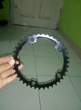 chain ring single 39t bisa buat sepeda lipat atau sepeda fixie