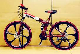 Bmw. Folding. Cycle. 21 gears.