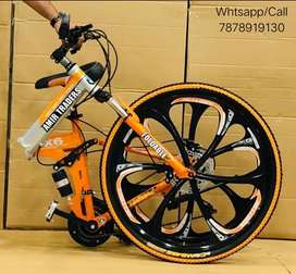 New 21 Gear Foldable Bicycle / cycle in all colours