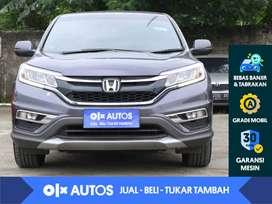 [OLX Autos] Honda CRV 2.4 RM3 A/T 2016 Abu - Abu